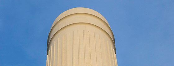 Spot the Difference! Rebuilding Battersea Power Station's Iconic Chimneys