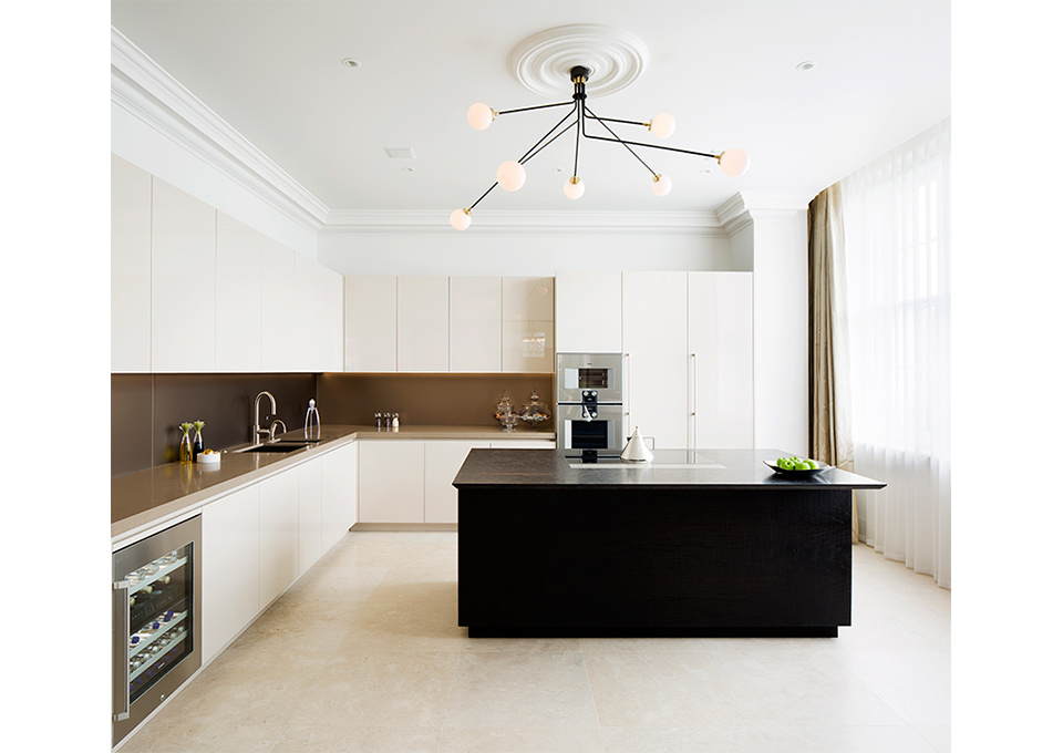 Kitchen from Project Sinatra by 1508 London, 2015.