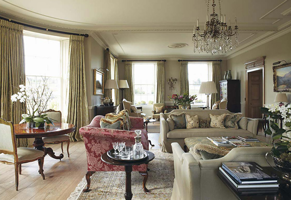 Historic Bath Country House, Somerset - Interior Design: Sims Hilditch Design , Chippenham - Client: Domestic client