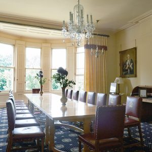 Conference suite, Period renovation, The Mansion House, Clifton, Bristol. - Interior design by i.d.space