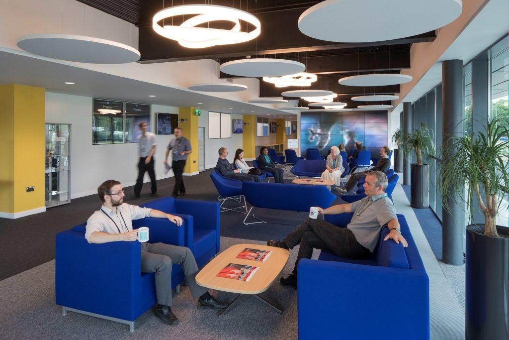 Interior design by Fairhursts Design Group