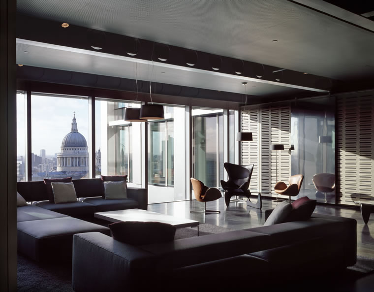 Interior design by Eric Parry Architects