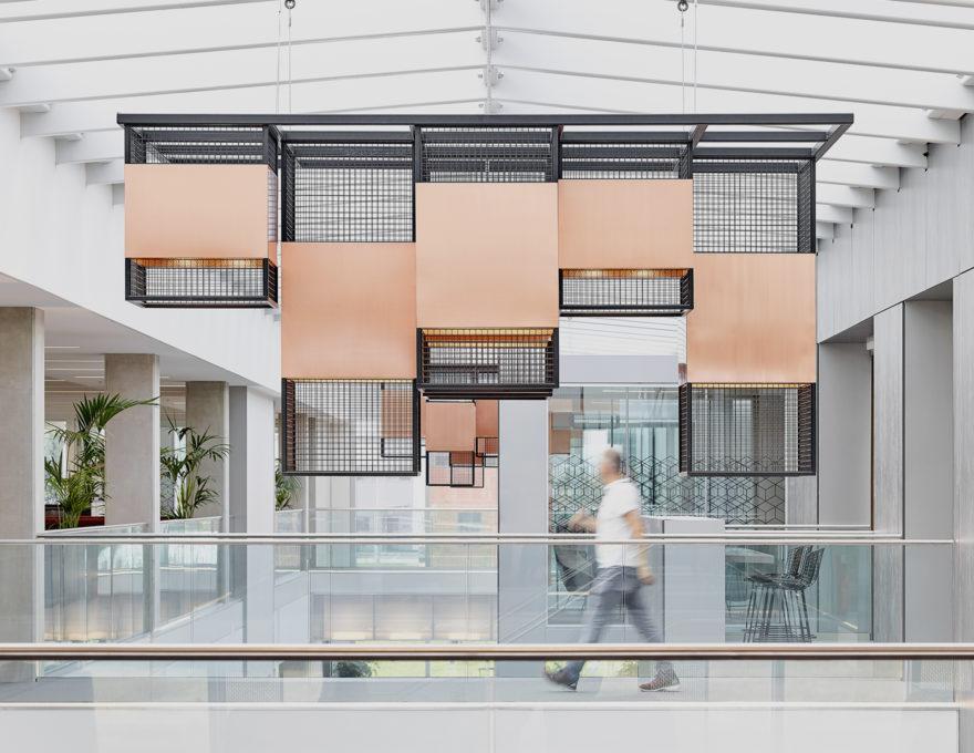 Interior design by Faulkner Browns