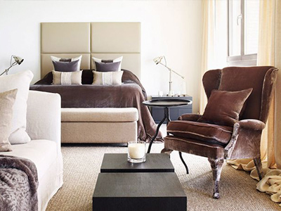 An overview of the design style of the glamorous socialite interior designer Kelly Hoppen MBE