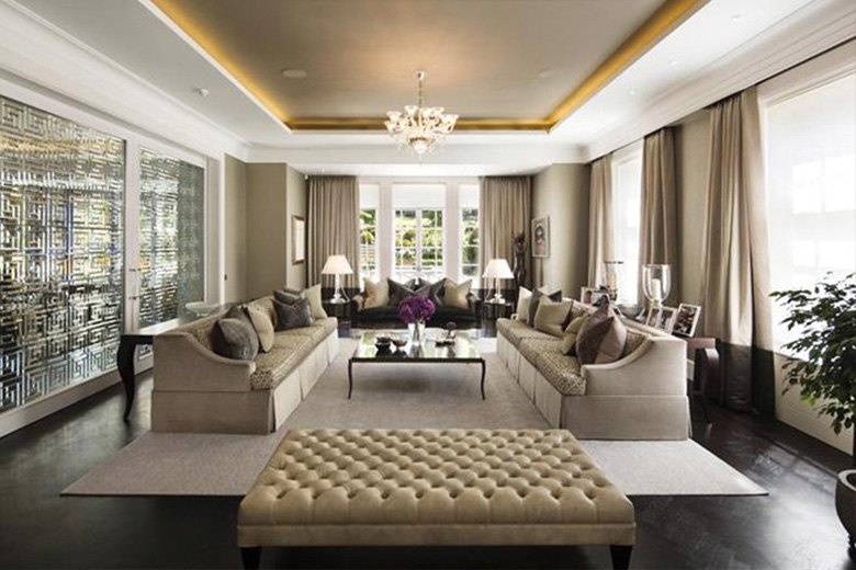 Sitting room in a family house, Winnington Road, Hampstead, London. Interior design by FiSHER iD