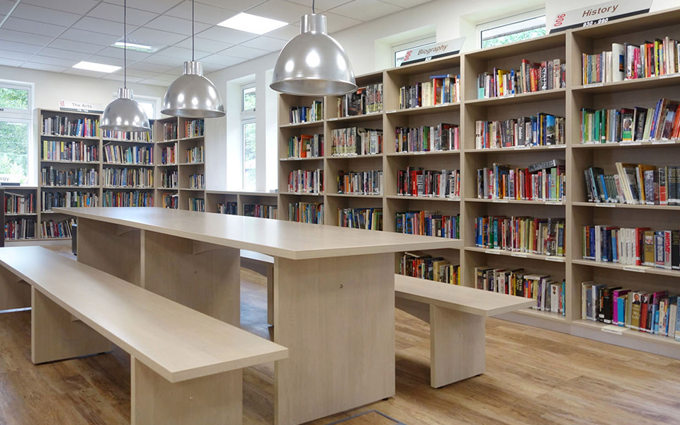 Classroom and Library refurbishment - Marymount International Girls School, Kingston upon Thames, London - Interior Design: Johanne O'Neill