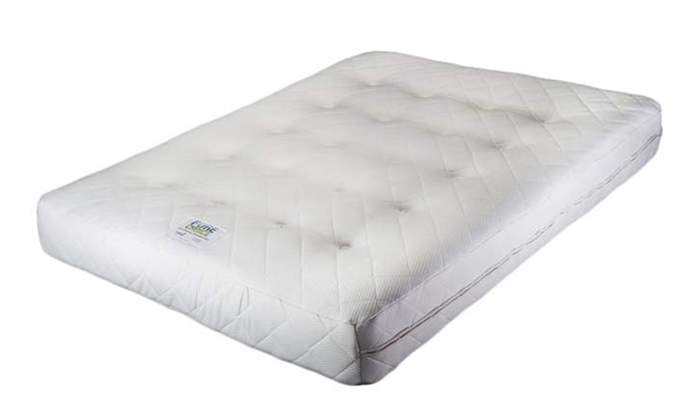 Cottonsafe Natural Mattress Vegan Choice: From £519 by Turnbull. A vegan mattress made without any toxic chemicals and stitched with flax thread rather than glue which often contains animal products.
