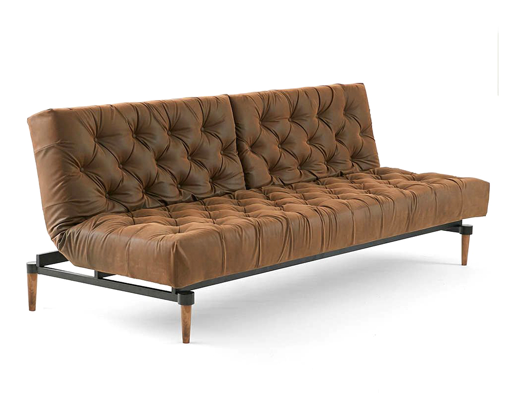 Vegan Leather Chesterfield Sleeper Sofa from Urban Outfitters.