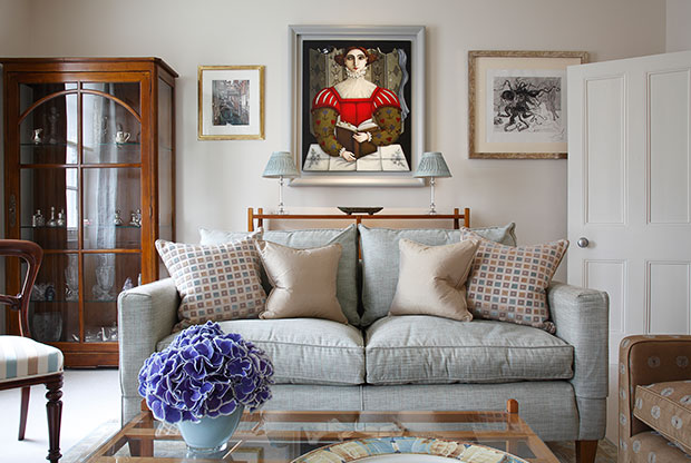 Interior design by Sally Dernie