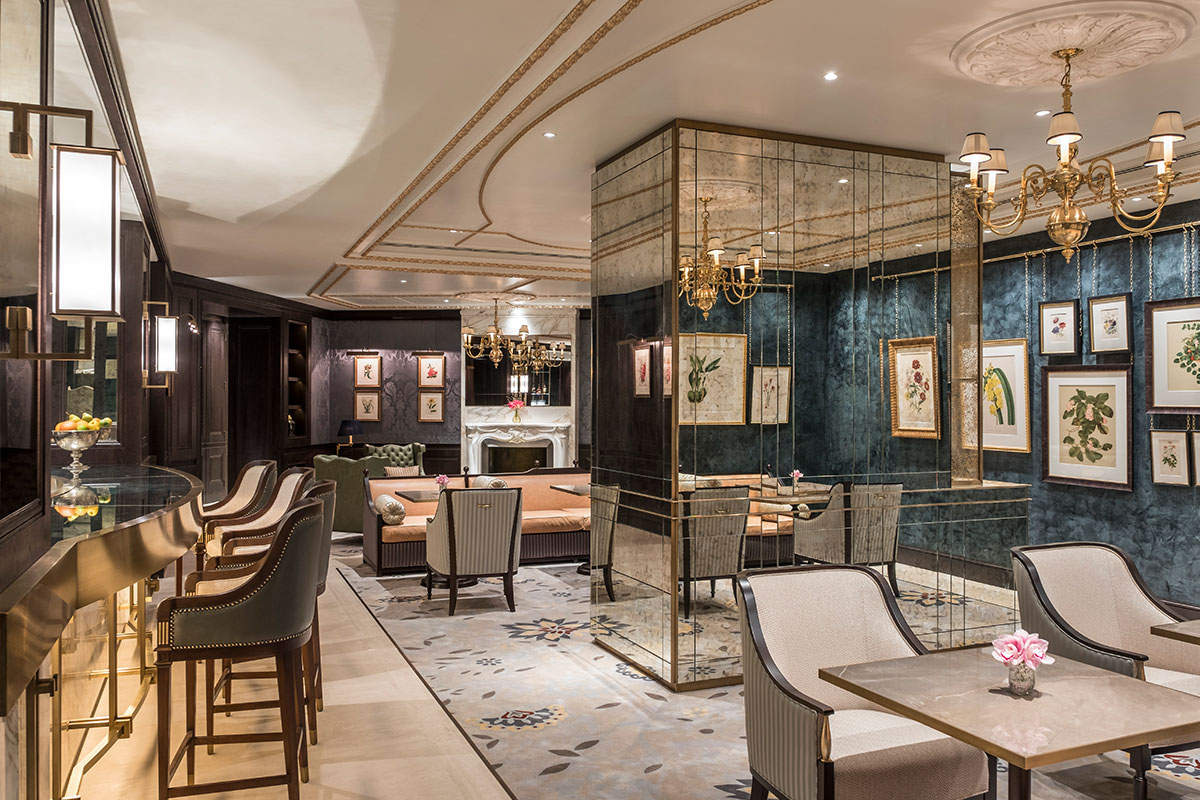 The Lanesborough Club, Spa Hotel London by 1508 London. The design concept is based on the Hotel's principles of 'Bespoke, Intuitive, Discrete and Intimate'