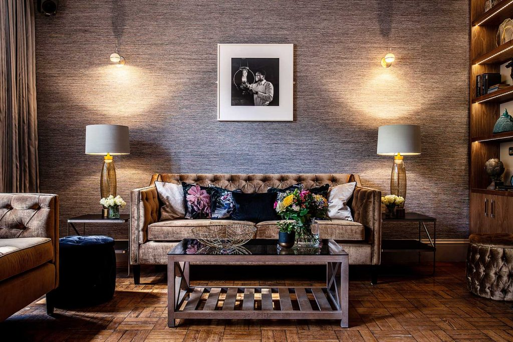 Interior design by Karen Walker