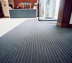 Flooring; entrance matting