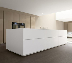 Furniture; fitted including kitchens and associated kitchen products