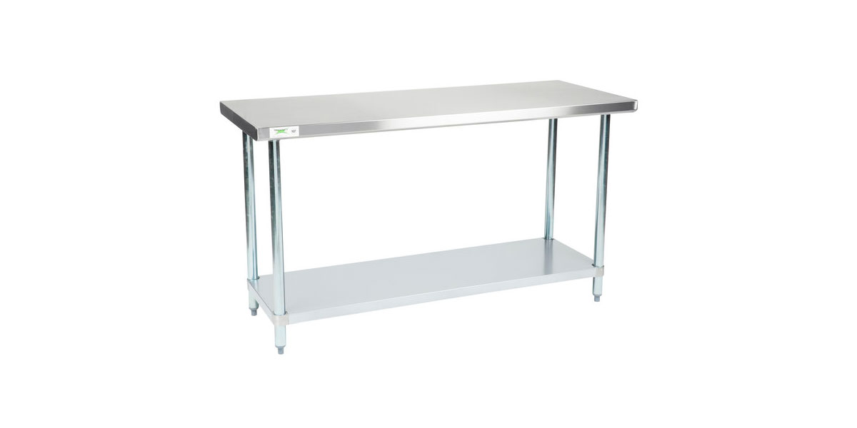 Stainless steel 304 work table by Webstaurant Store