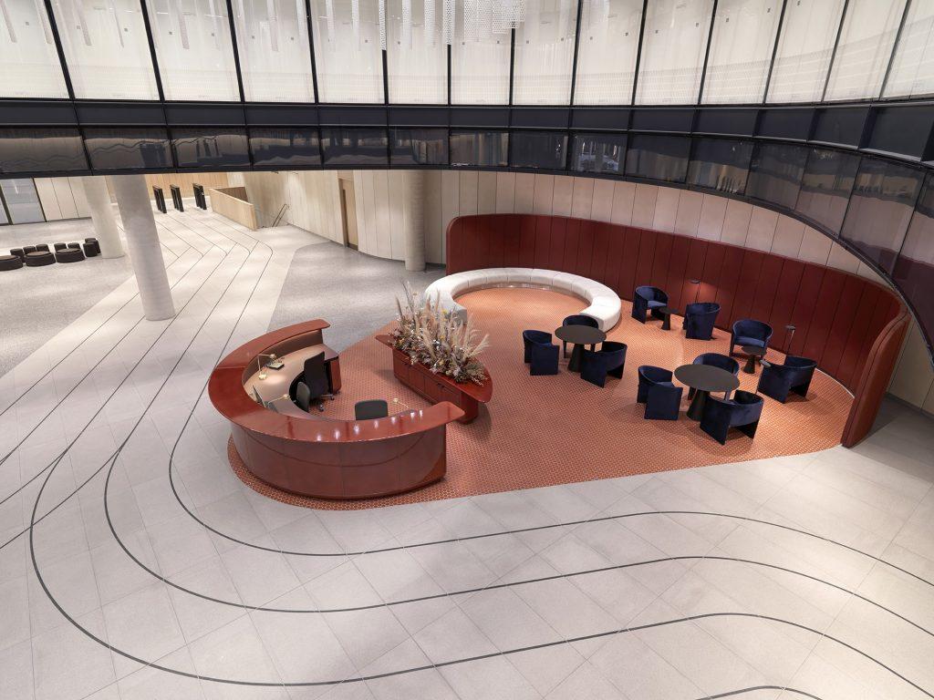 Interior design by Universal